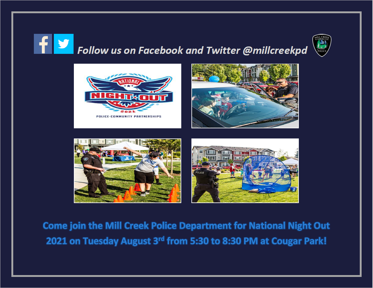 Mill Creek National Night Out